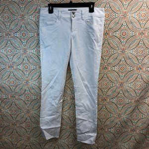 American Eagle | Super Stretch White Cropped Pants